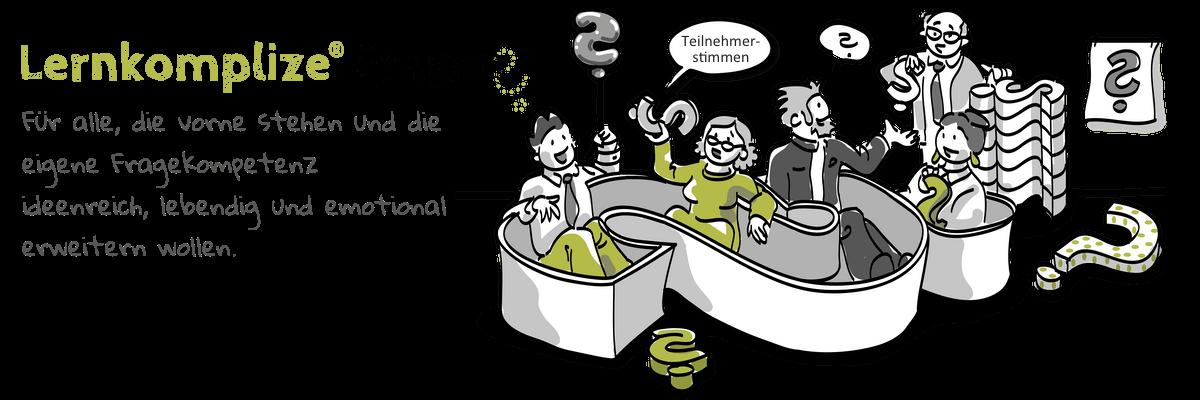 Teilnehmer sitzen in einer Fragen- Badewanne