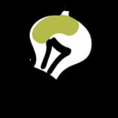 Glühbirne in Aktion als Idee